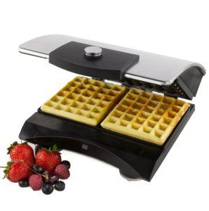 Andrew James Luxury Double Belgian Waffle Maker