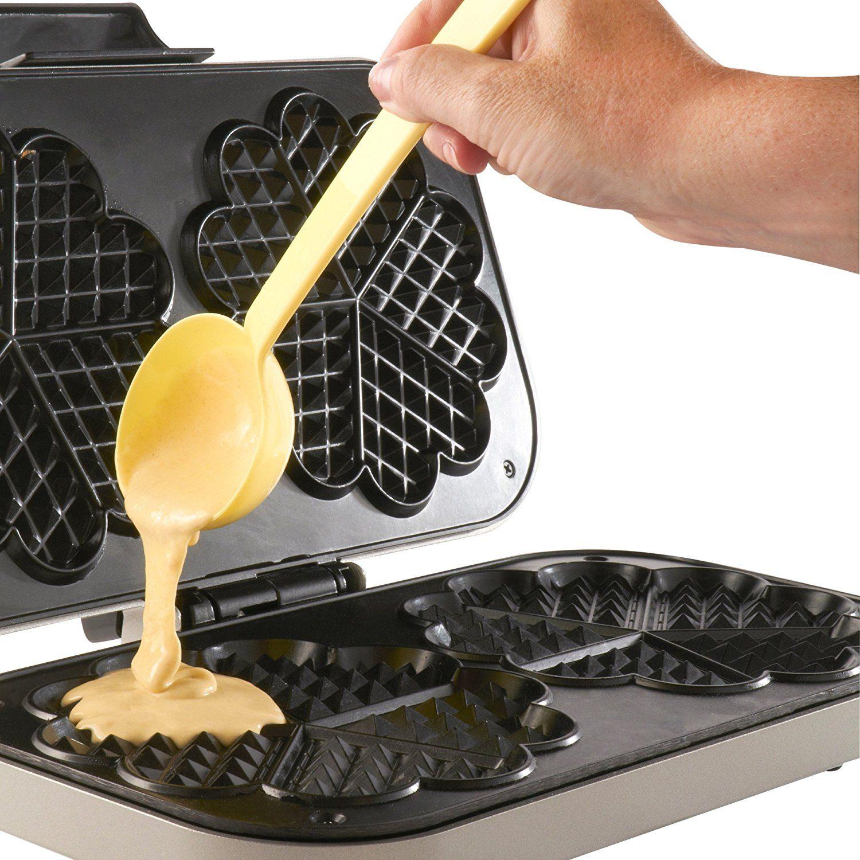 vonshef double waffle maker love your kitchen. Black Bedroom Furniture Sets. Home Design Ideas