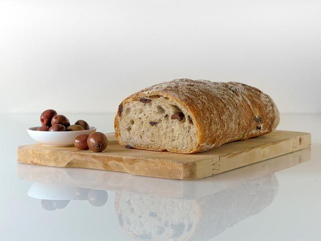 image of freshly baked bread