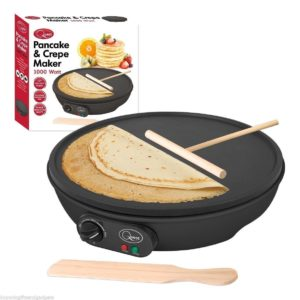 Non Stick Electric Pancake Crepe Omelette Maker Frying Pan Machine