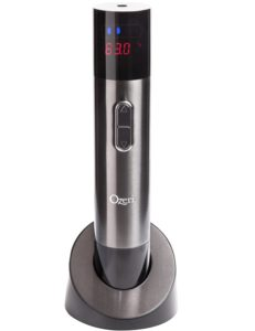 Ozeri Maestro Electric Wine Opener with Infrared Wine Thermometer and Digital LCD Display