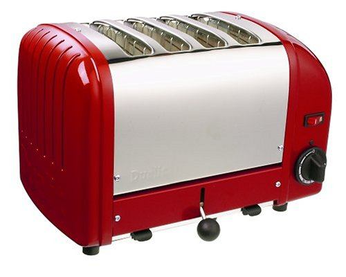 Dualit 40352 4-Slice Stainless Steel Bread Toaster