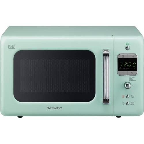 Mint coloured microwave