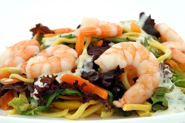 asian style prawn noodles recipe