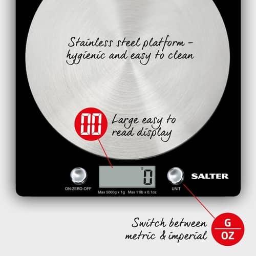 Salter Digital Kitchen Weighing Scales